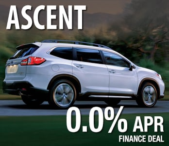 2020 Subaru Ascent Finance Deal