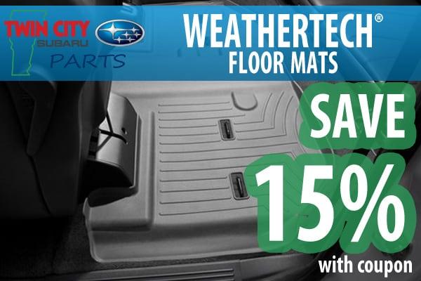 Weathertech discount coupons