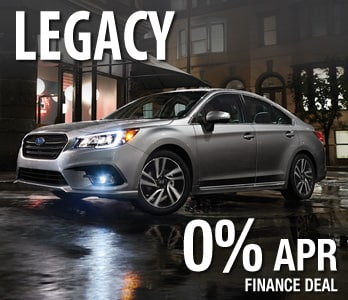 2018 Subaru Legacy Finance Deal