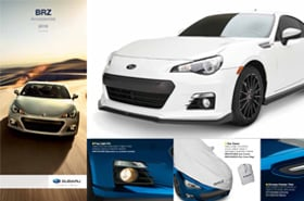 2016 Subaru BRZ Accessories Brochure
