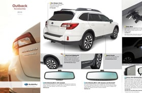 2015 Subaru Outback Accessories