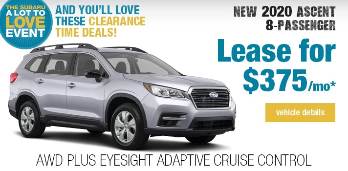 Twin City Subaru Ascent  Lease Deal
