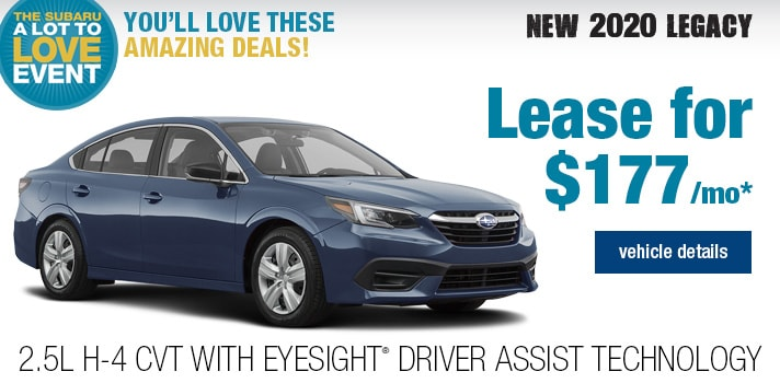 Twin City Subaru Legacy Lease Deal