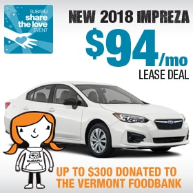 2018 Subaru Impreza Lease Deal