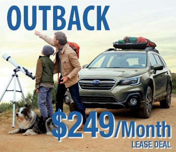2019 Subaru Outback Lease  Deal