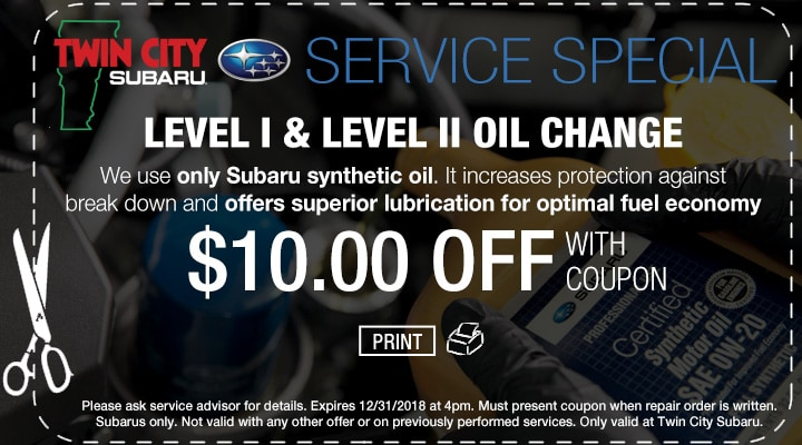 Subaru Winter Tires Coupon