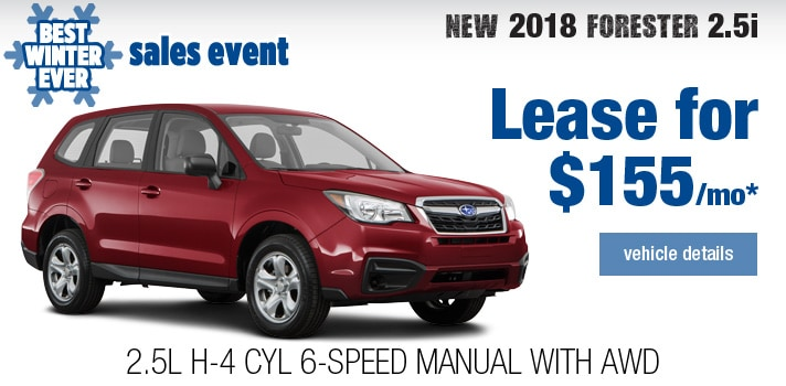 New Subaru Forester Lease Deal
