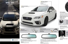 2016 Subaru WRX Accessories Brochure