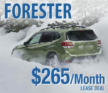 2019 Subaru Forester Lease Deal