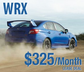2020 Subaru WRX Lease Deal