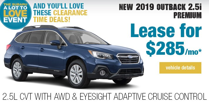 Twin City Subaru  Outback Lease Deal