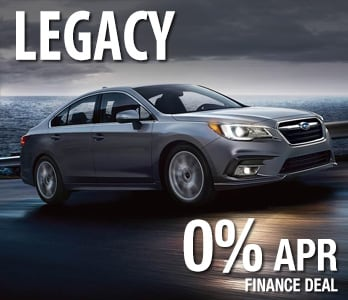 2019 Subaru Legacy Finance Deal