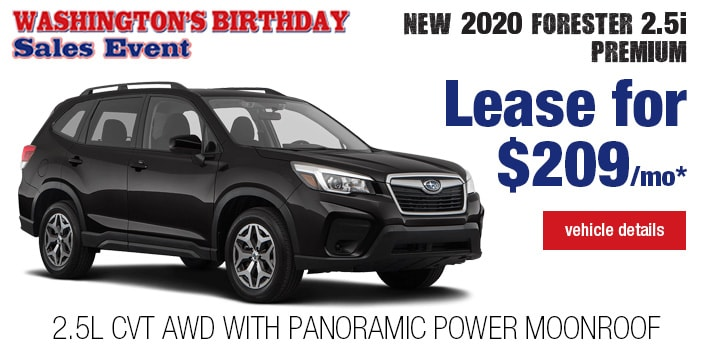Twin City Subaru  Forester  Lease Deal