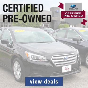 Subaru Certified Pre-Owned Deals