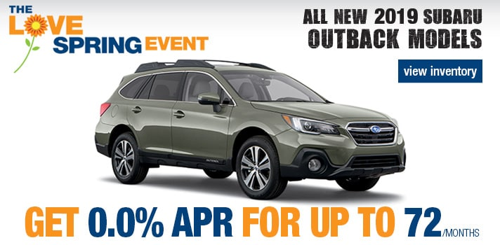 2019 Subaru Outback 0%  Finance Deal