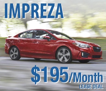 2019 Subaru Impreza Lease  Deal
