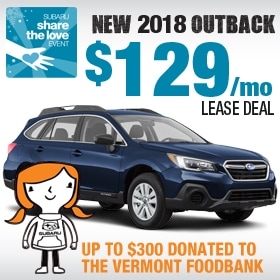 New 2018 Subaru Outback Lease Deal