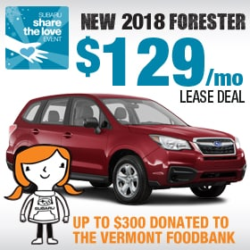 New 2018 Forester Lease Deal