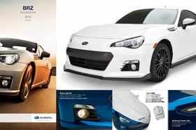 2015 Subaru BRZ Accessories Brochure