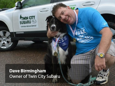 Owner Dave Birminham wants to help you find a job at Twin City Subaru!