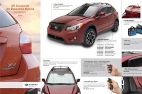 2015 Subaru XV Crosstrek Accessories Brochure