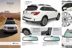 2016 Subaru Outback Accessories