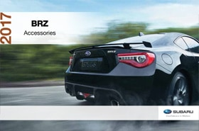 2017 Subaru BRZ Accessories Brochure