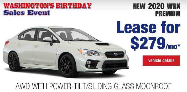 Twin City Subaru WRX Lease Deal