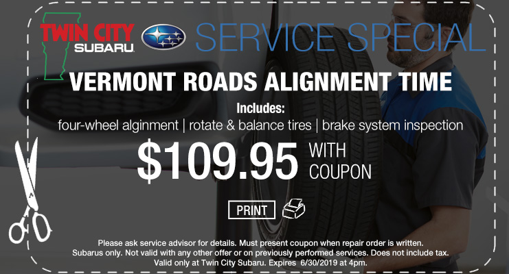 Subaru Alignment Coupon