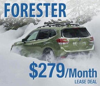 2020 Subaru Forester Lease Deal