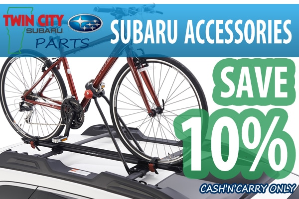 Subaru Accessories Save 10% Coupon
