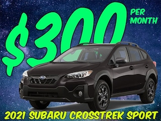 Crosstrek Sport only $299 per month?