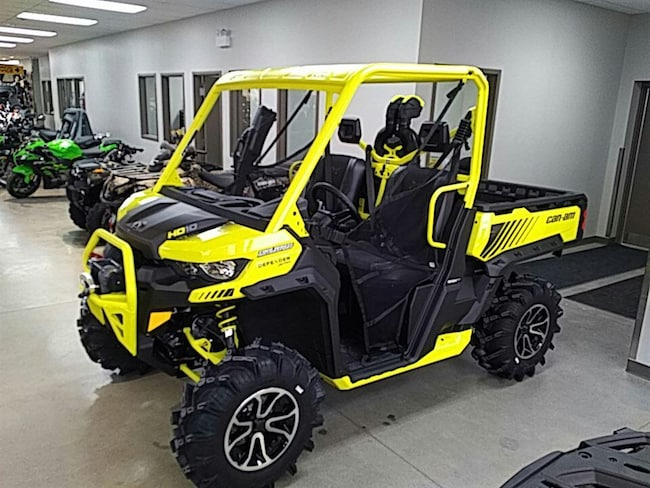 2018 CAN-AM Defender X mr HD10 DEFENDER XMR YELLOW BLACK