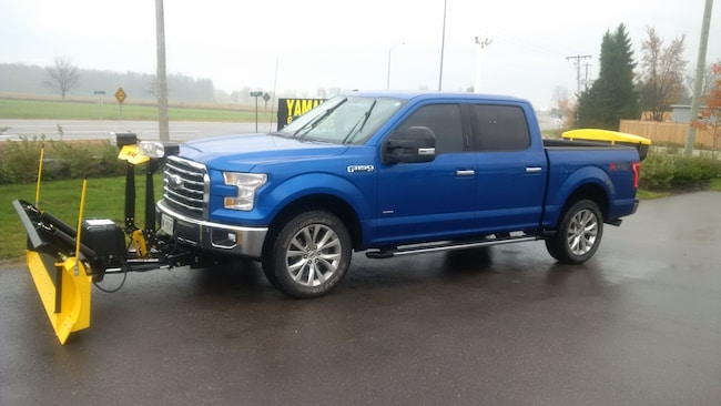 2018 Ford F-150 F150 SNOWAY PLOW SYSTEM AND SPREADER Crew Cab