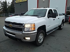 2011 Chevrolet Silverado 2500hd DURAMAX*CREW*LT*4X4*LEATHER SHORTBOX Truck Crew Cab