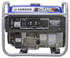 2017 YAMAHA EF2600C    EF2600  EF26C INCREDIBLE GENERATOR FOR THE MONEY