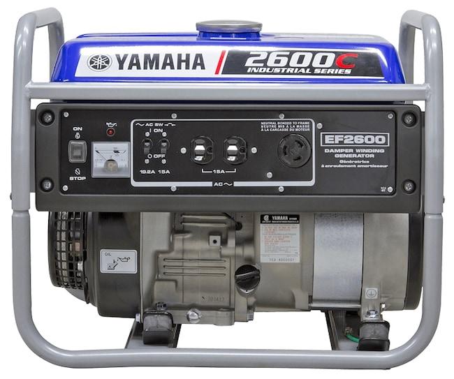2018 YAMAHA EF2600C    EF2600  EF26C INCREDIBLE GENERATOR FOR THE MONEY