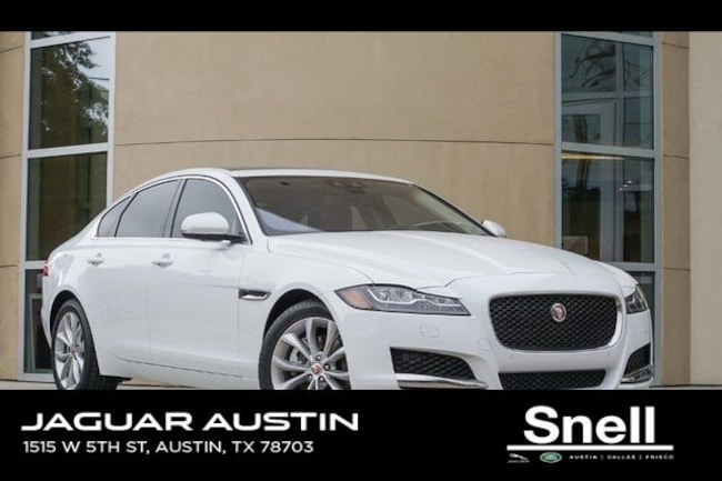 Used 2018 Jaguar XF Premium Sedan in Austin, TX