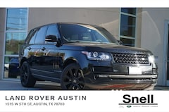 Used Vehicles for sale 2015 Land Rover Range Rover 3.0L V6 Supercharged HSE SUV SALGS2VF4FA209884 in Austin, TX