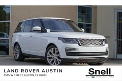 New Land Rover for sale 2019 Land Rover Range Rover 3.0L V6 Supercharged HSE SUV SALGS2SV3KA516789 in Austin TX
