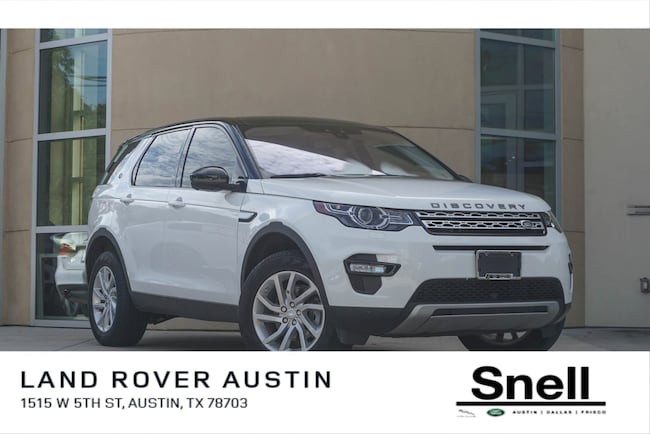 Certified Pre-Owned 2018 Land Rover Discovery Sport HSE SUV For Sale Dallas, Texas
