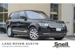 Used Vehicles for sale 2017 Land Rover Range Rover 3.0L V6 Supercharged HSE SUV SALGS2FV0HA377109 in Austin, TX