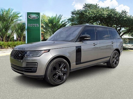 Used 2019 Land Rover Range Rover V8 Supercharged LWB SUV in Houston