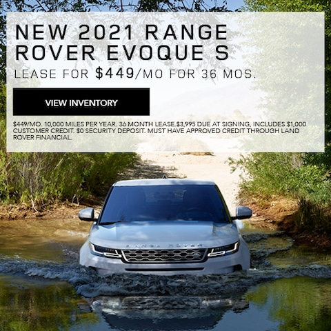New 2021 Range Rover Evoque S
