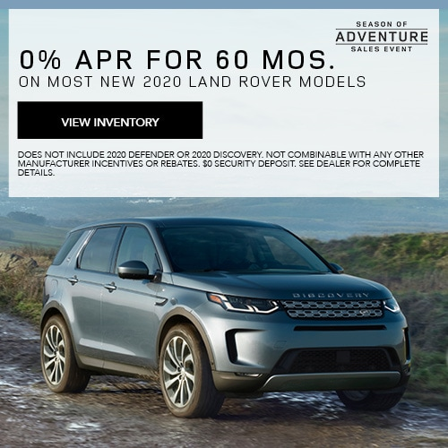 New Land Rover Lease Specials In Houston Tx Land Rover Houston Central