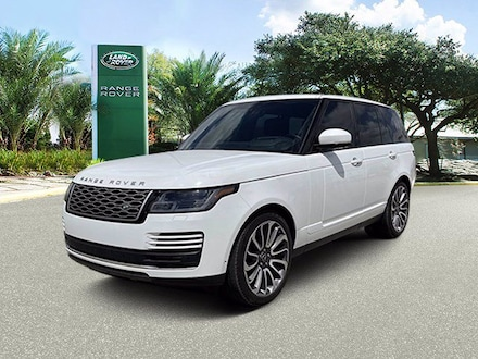 Used 2019 Land Rover Range Rover V8 Supercharged SWB SUV in Houston