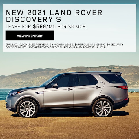 New 2021 Land Rover Discovery S