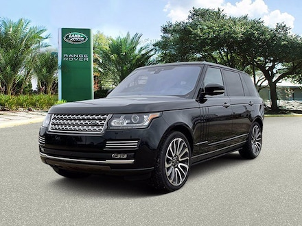 Used 2017 Land Rover Range Rover Autobiography SUV in Houston