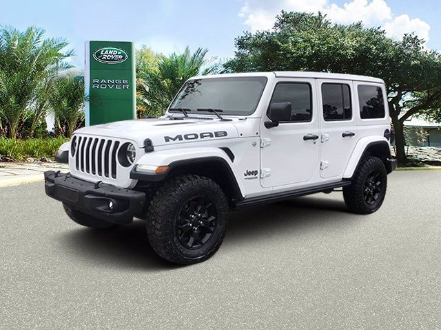 Used 2019 Jeep Wrangler Moab SUV for sale in Houston