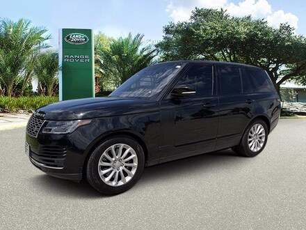 Used 2019 Land Rover Range Rover HSE SUV in Houston